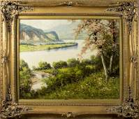 Laszlo Neogrady (Hungary,1896-1962) oil on canvas