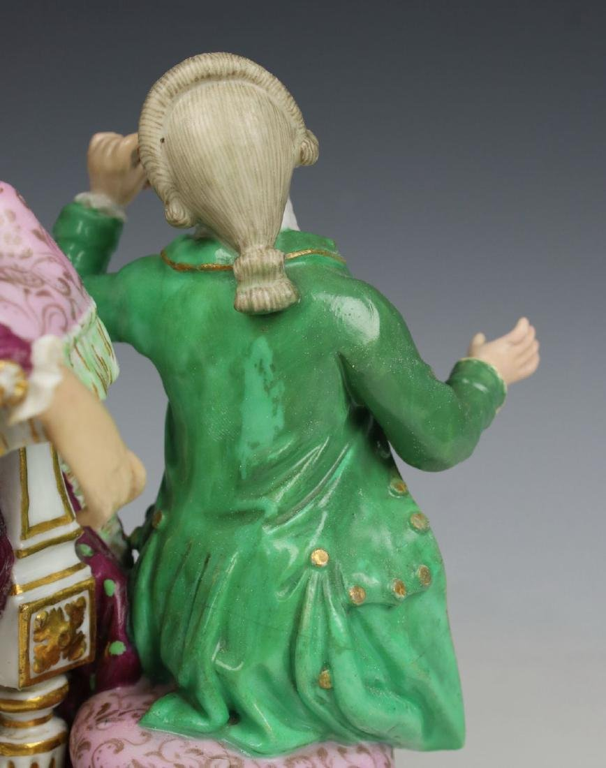 "Meissen Acier figurine E69 ""Good Mother"" - 10"