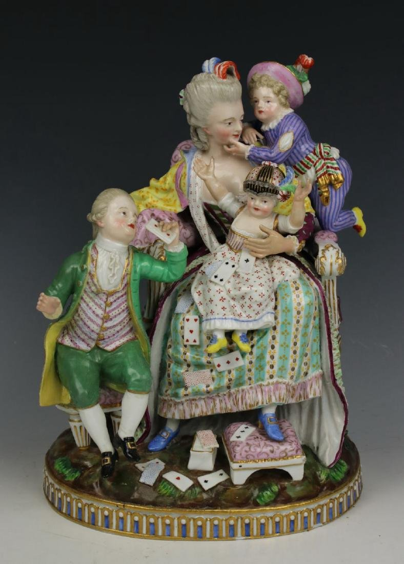 "Meissen Acier figurine E69 ""Good Mother"""