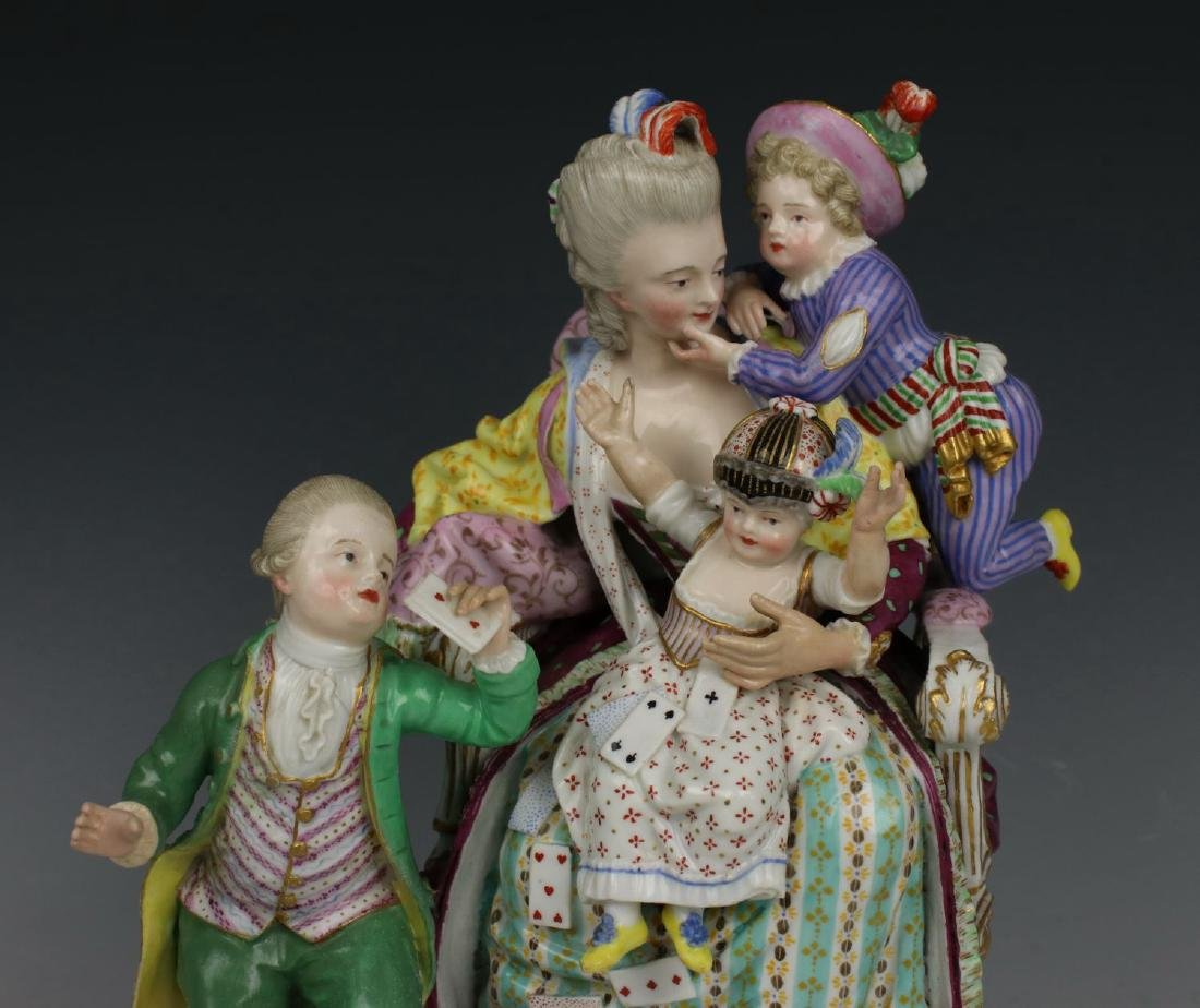 "Meissen Acier figurine E69 ""Good Mother"" - 3"