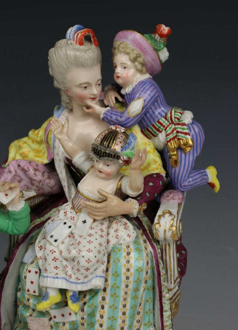 "Meissen Acier figurine E69 ""Good Mother"" - 4"