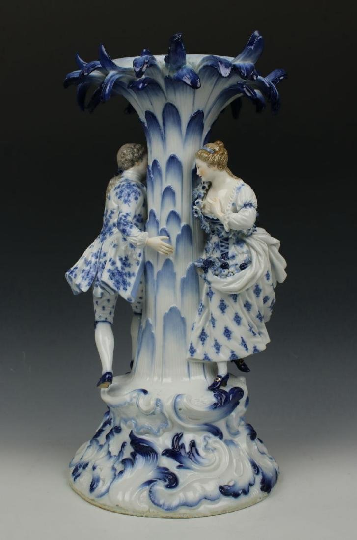 "Meissen Figurine 2772 ""Centerpiece with Man and Woman"" - 2"