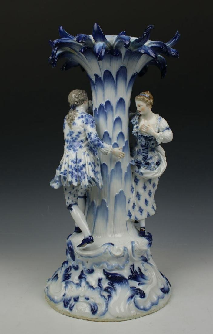 "Meissen Figurine 2772 ""Centerpiece with Man and Woman"" - 5"