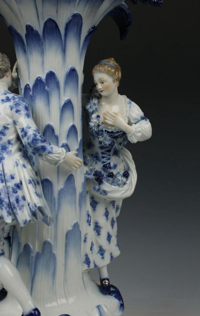 "Meissen Figurine 2772 ""Centerpiece with Man and Woman"" - 6"