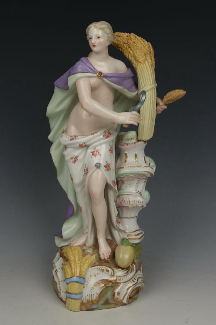 """Meissen Meyer Figurine 2724 """"Summer"""""""