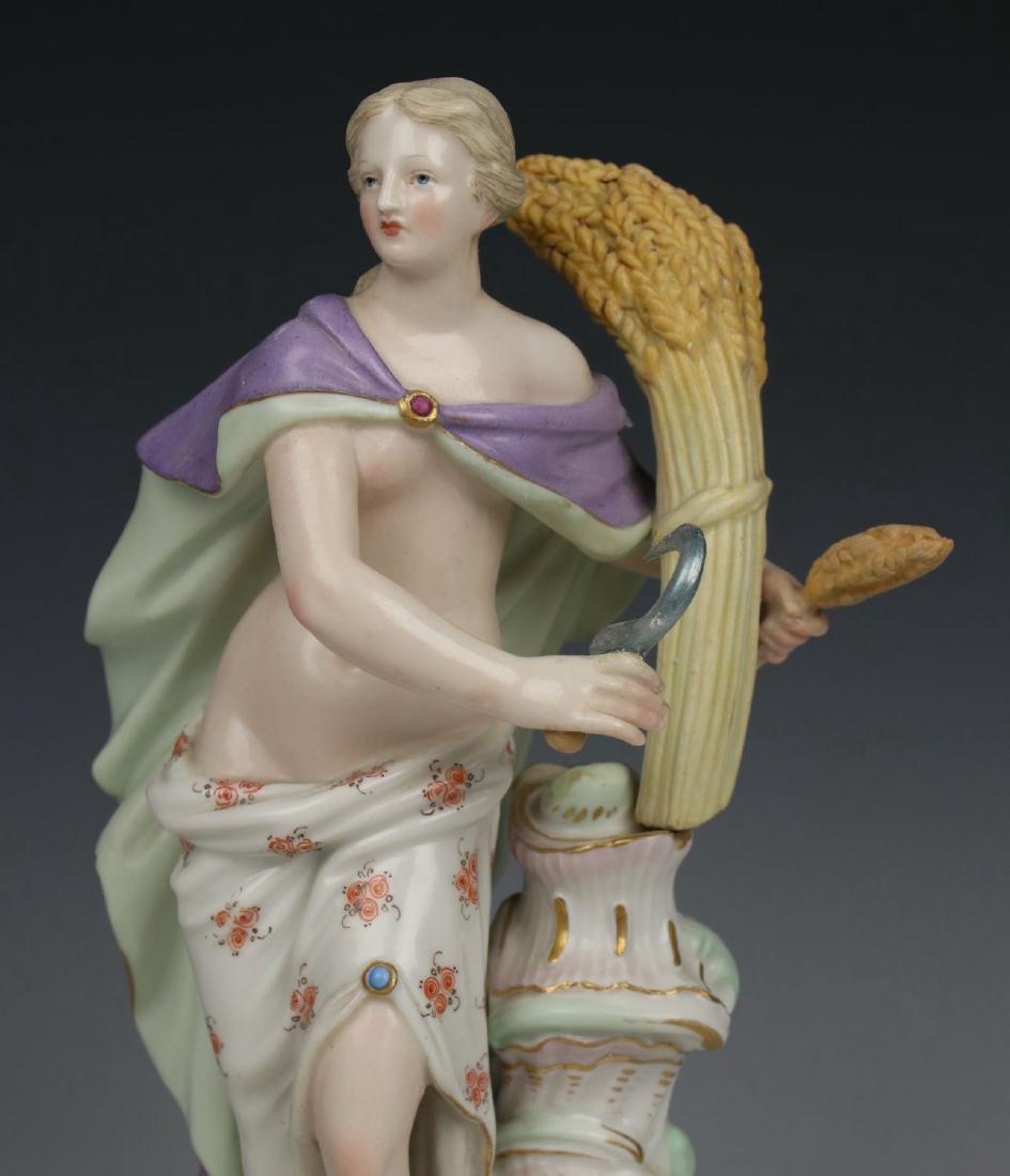 """Meissen Meyer Figurine 2724 """"Summer"""" - 5"""