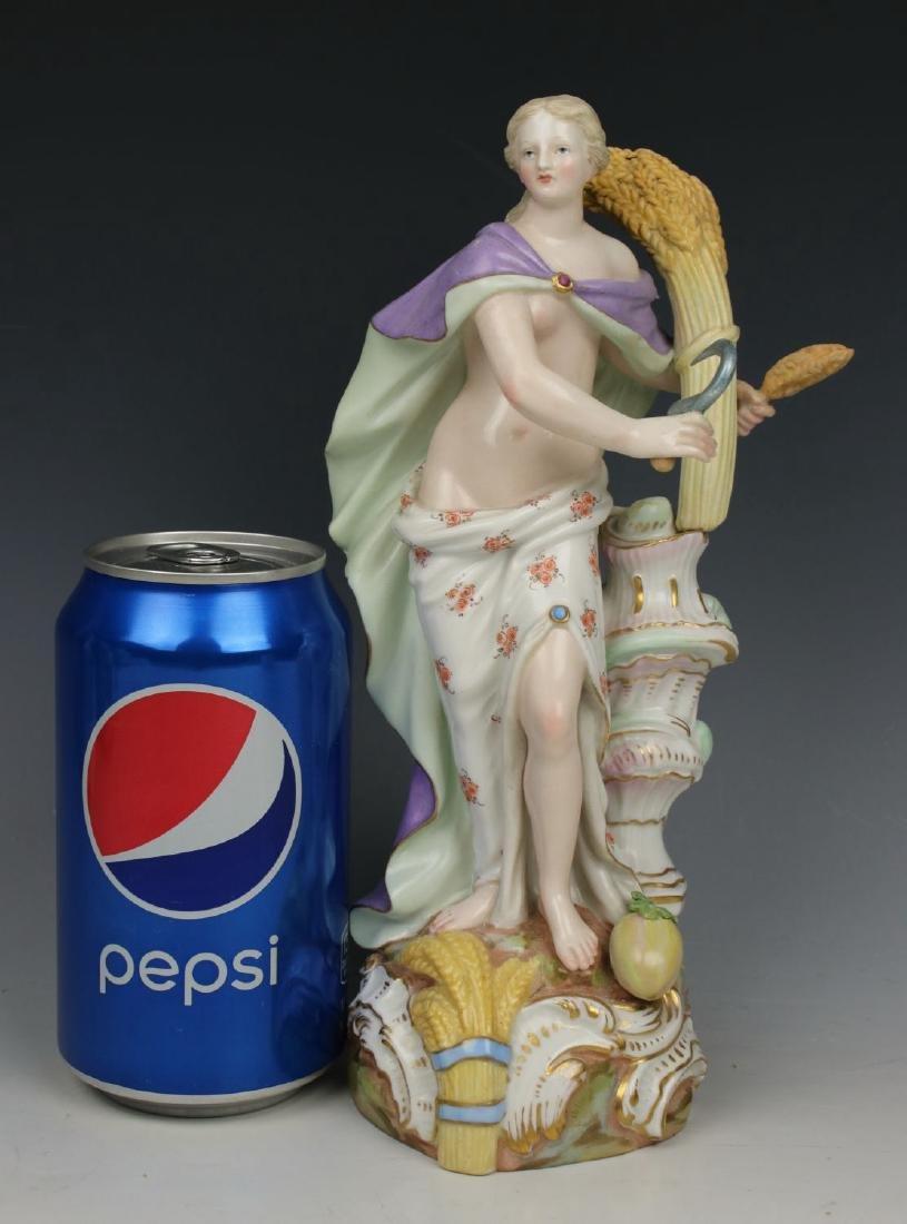 """Meissen Meyer Figurine 2724 """"Summer"""" - 8"""