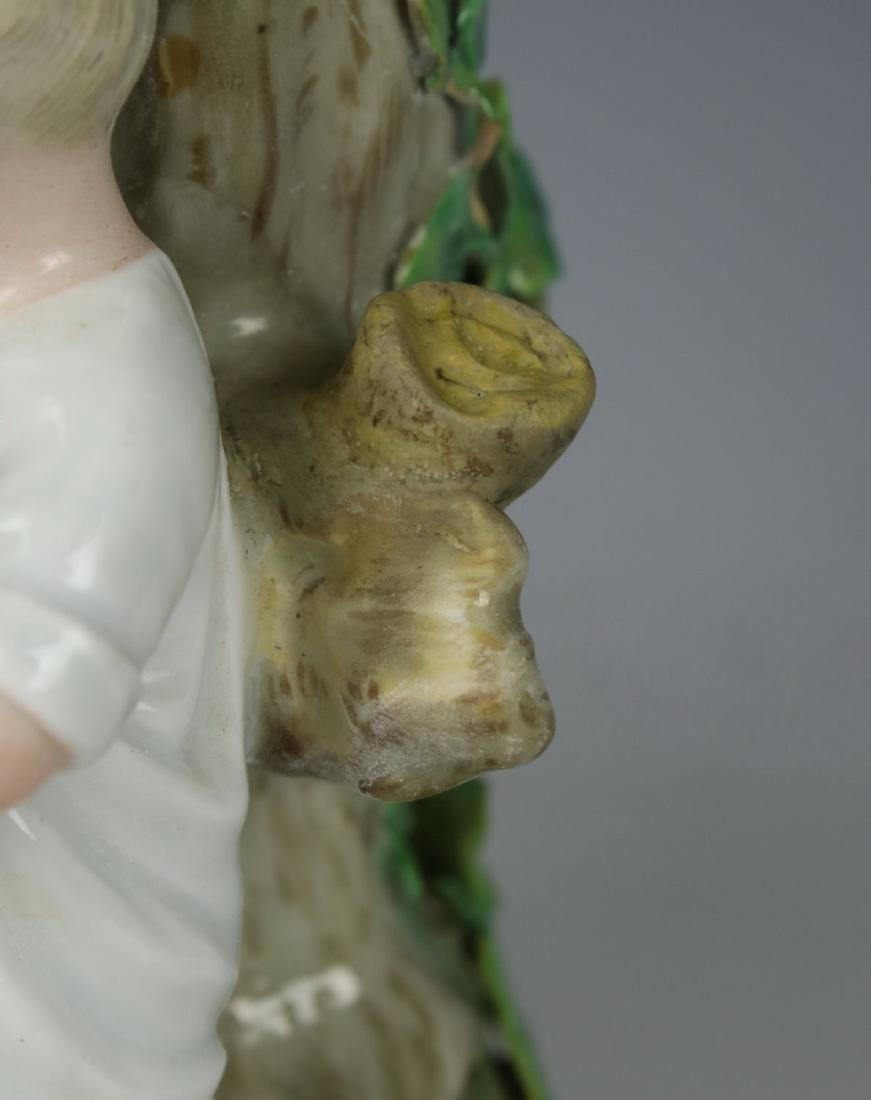 """Meissen pair of figurines 1153 & 1160 """"Egg Pickers"""" - 10"""