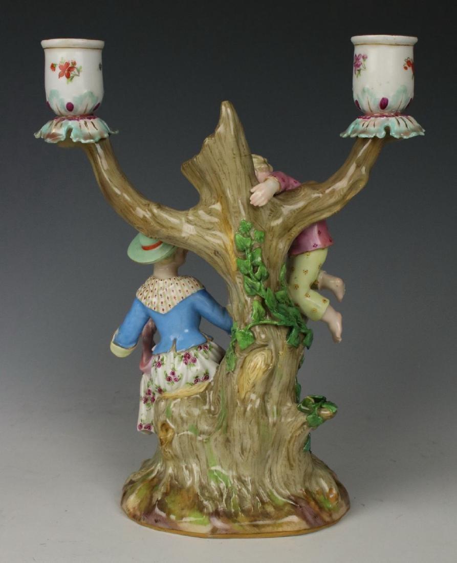 """Meissen pair of figurines 1153 & 1160 """"Egg Pickers"""" - 4"""