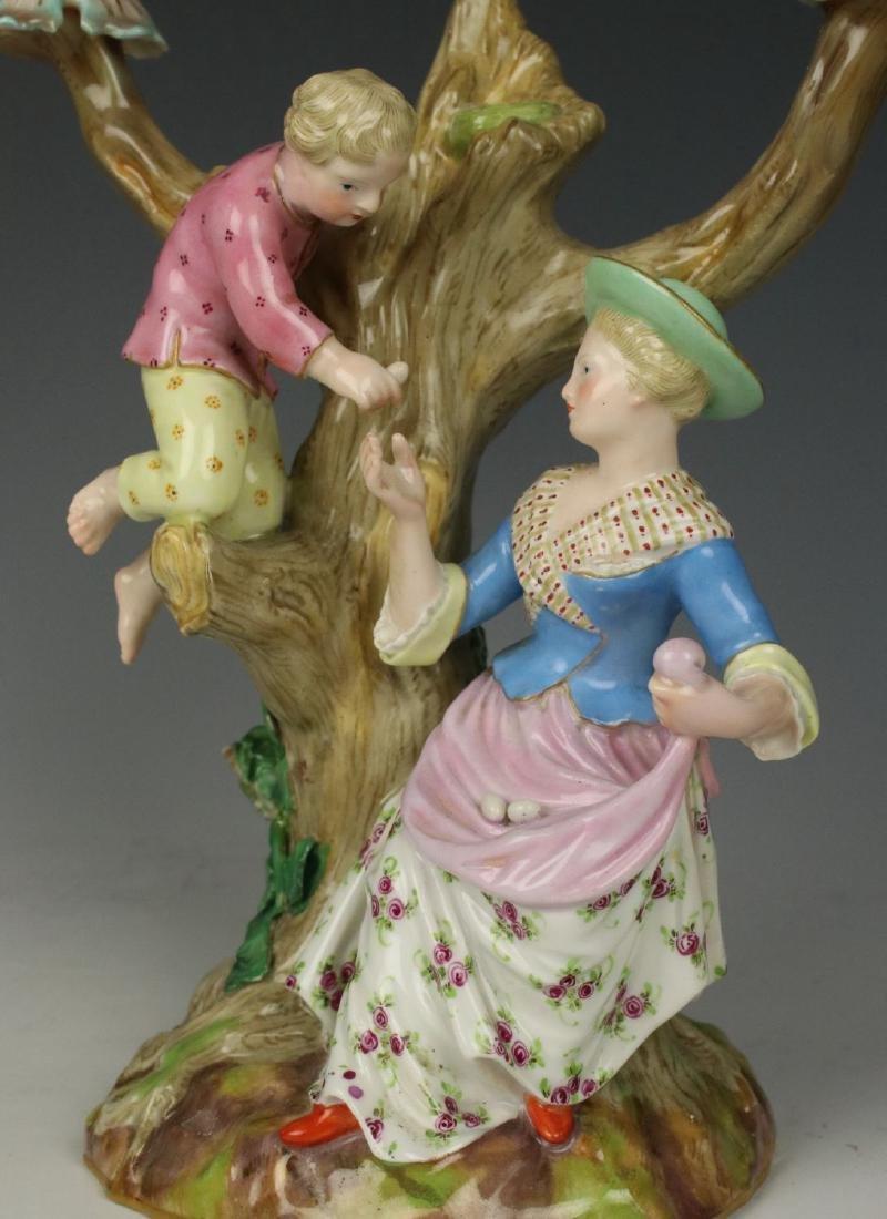 """Meissen pair of figurines 1153 & 1160 """"Egg Pickers"""" - 5"""