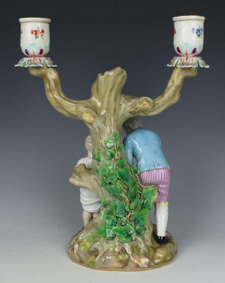 """Meissen pair of figurines 1153 & 1160 """"Egg Pickers"""" - 8"""