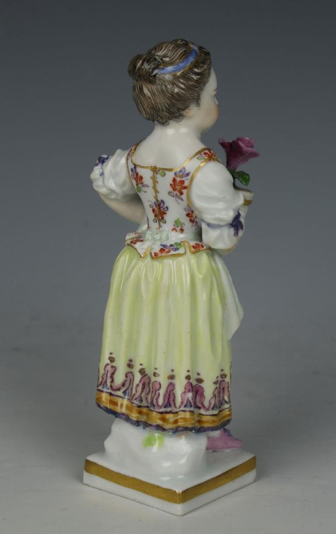 """Meissen Acier Figurine G1 """"Girl with Flower Pot"""" - 3"""