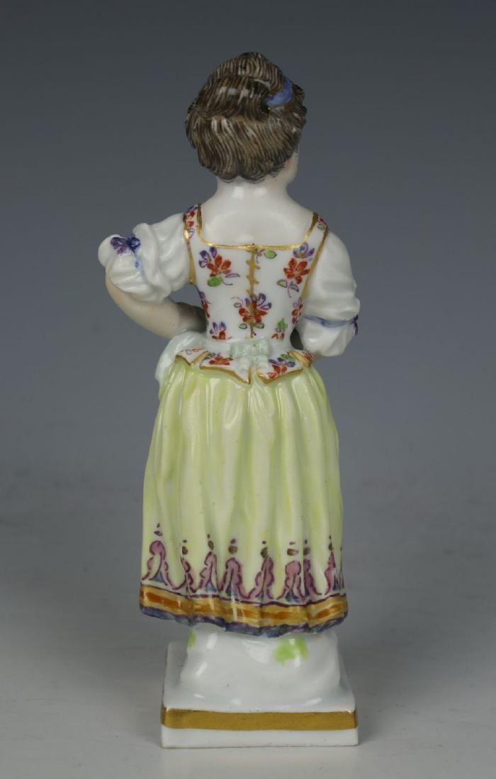 """Meissen Acier Figurine G1 """"Girl with Flower Pot"""" - 4"""