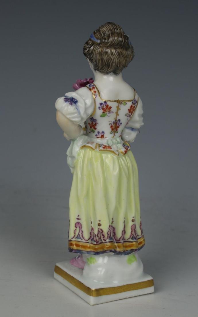 """Meissen Acier Figurine G1 """"Girl with Flower Pot"""" - 5"""
