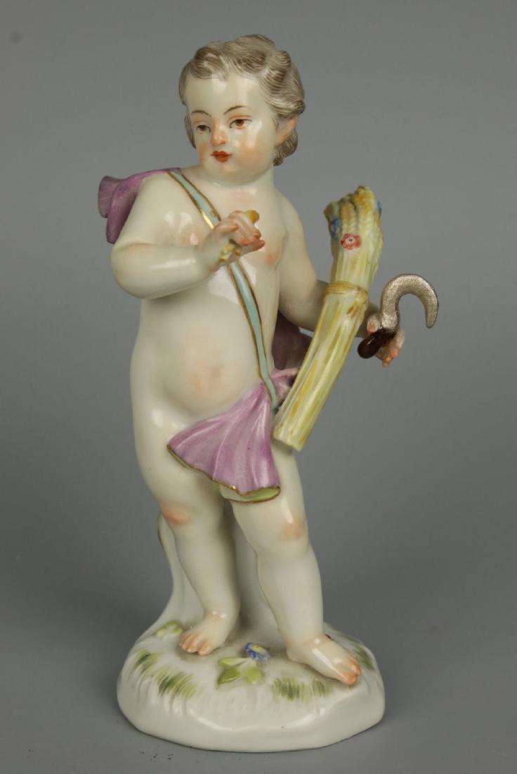 """Meissen Kaendler Figurine A67 """"Summer"""" - 2"""