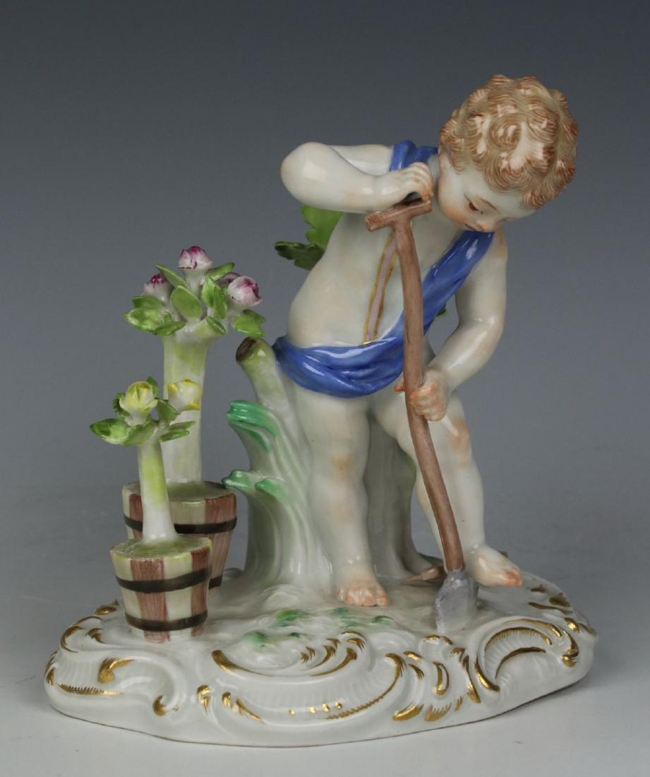 "Meissen Kaendler Figurine C100 ""Earth"""