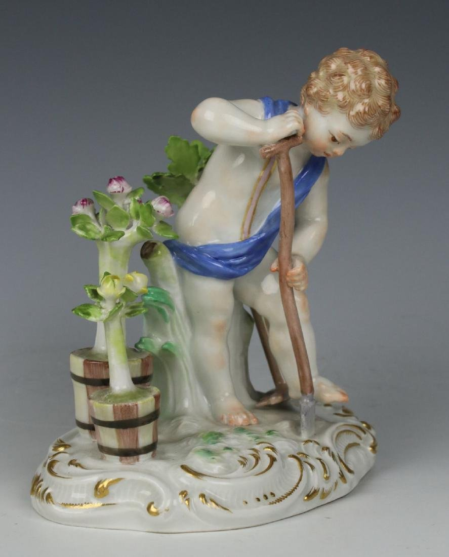 "Meissen Kaendler Figurine C100 ""Earth"" - 2"