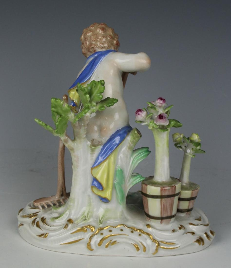 "Meissen Kaendler Figurine C100 ""Earth"" - 3"