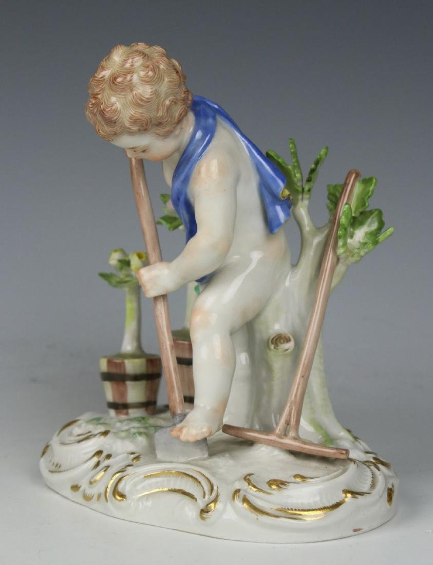 "Meissen Kaendler Figurine C100 ""Earth"" - 5"