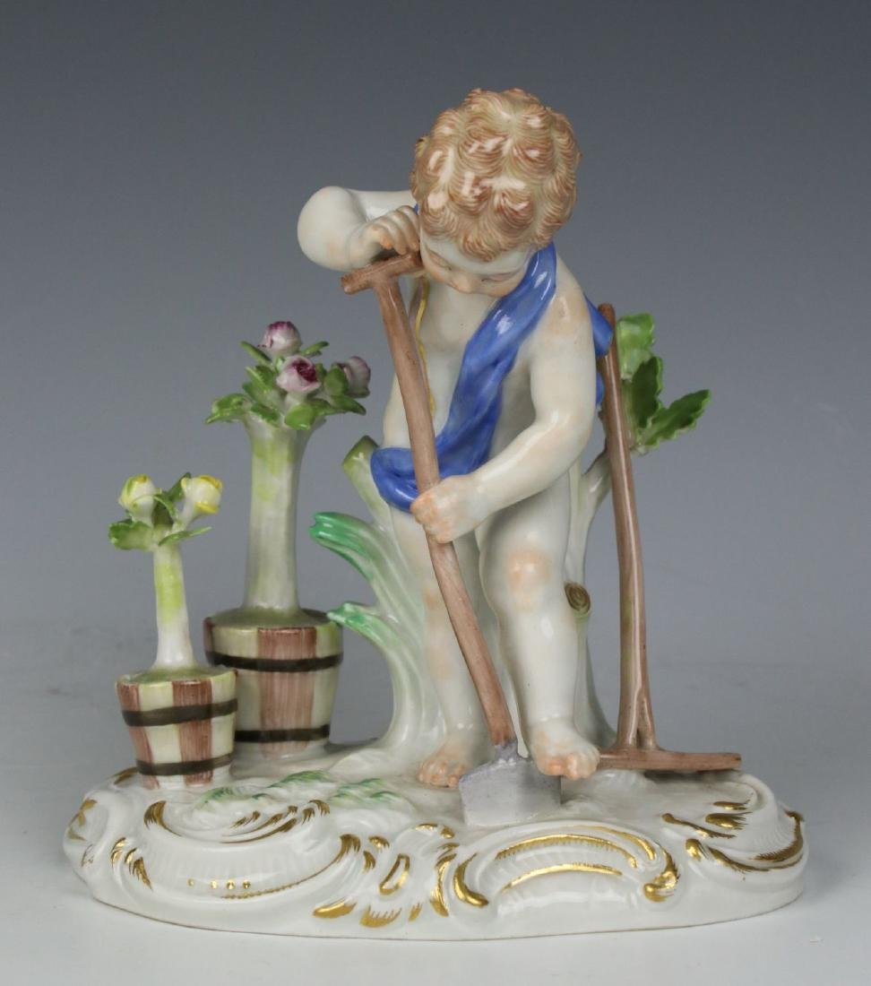 "Meissen Kaendler Figurine C100 ""Earth"" - 6"