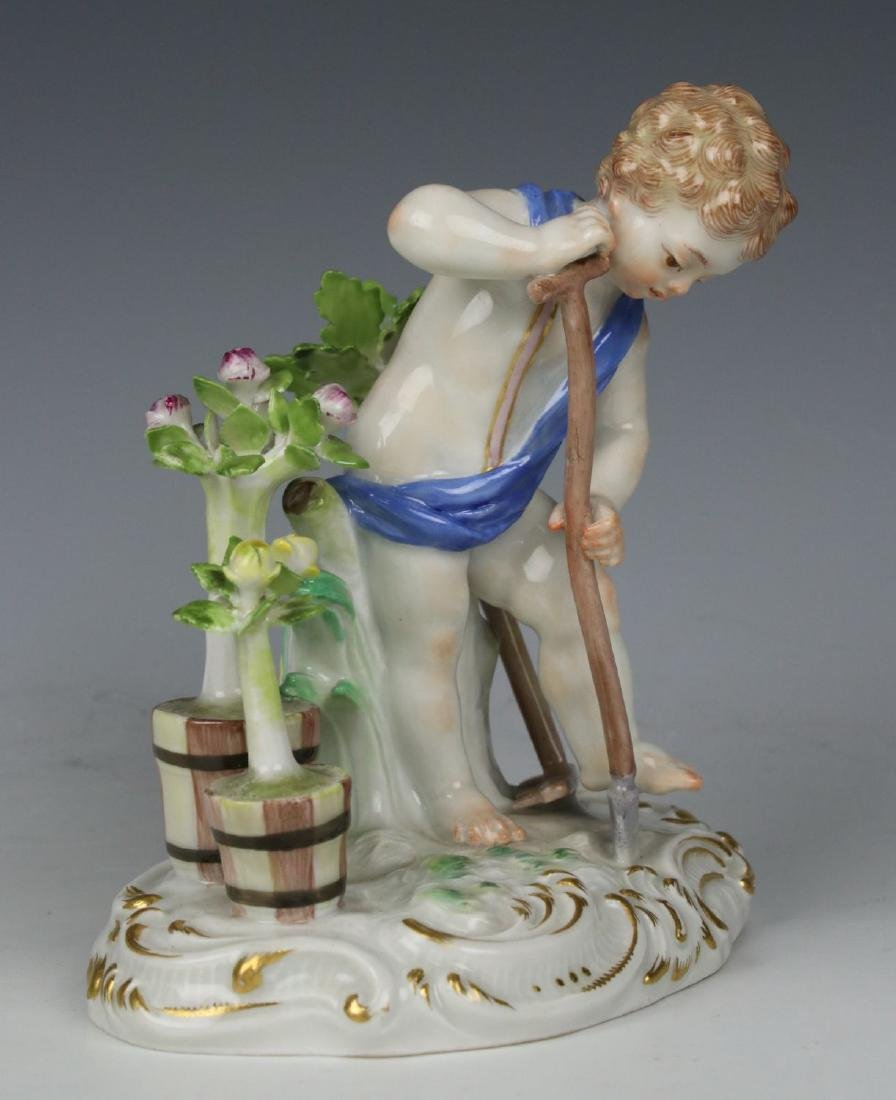 "Meissen Kaendler Figurine C100 ""Earth"" - 7"