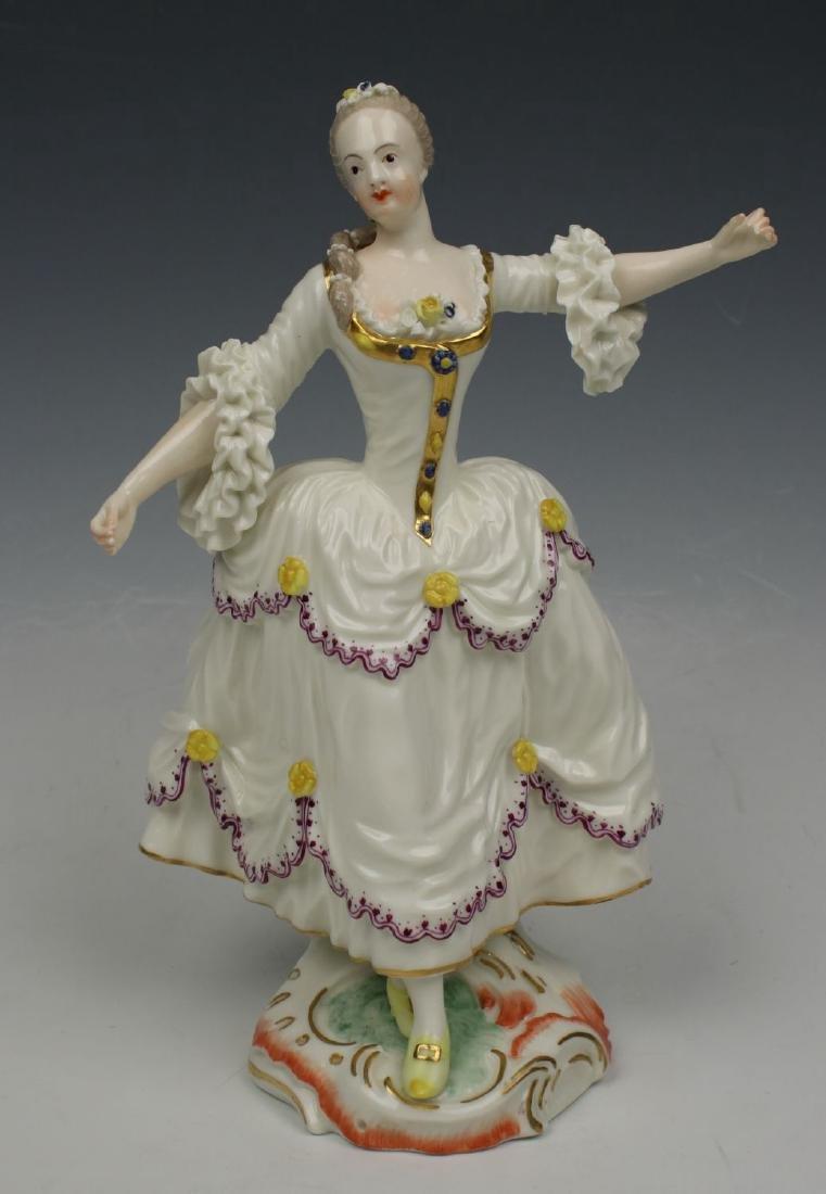 "Nymphenburg figurine ""Dancing Lady"""