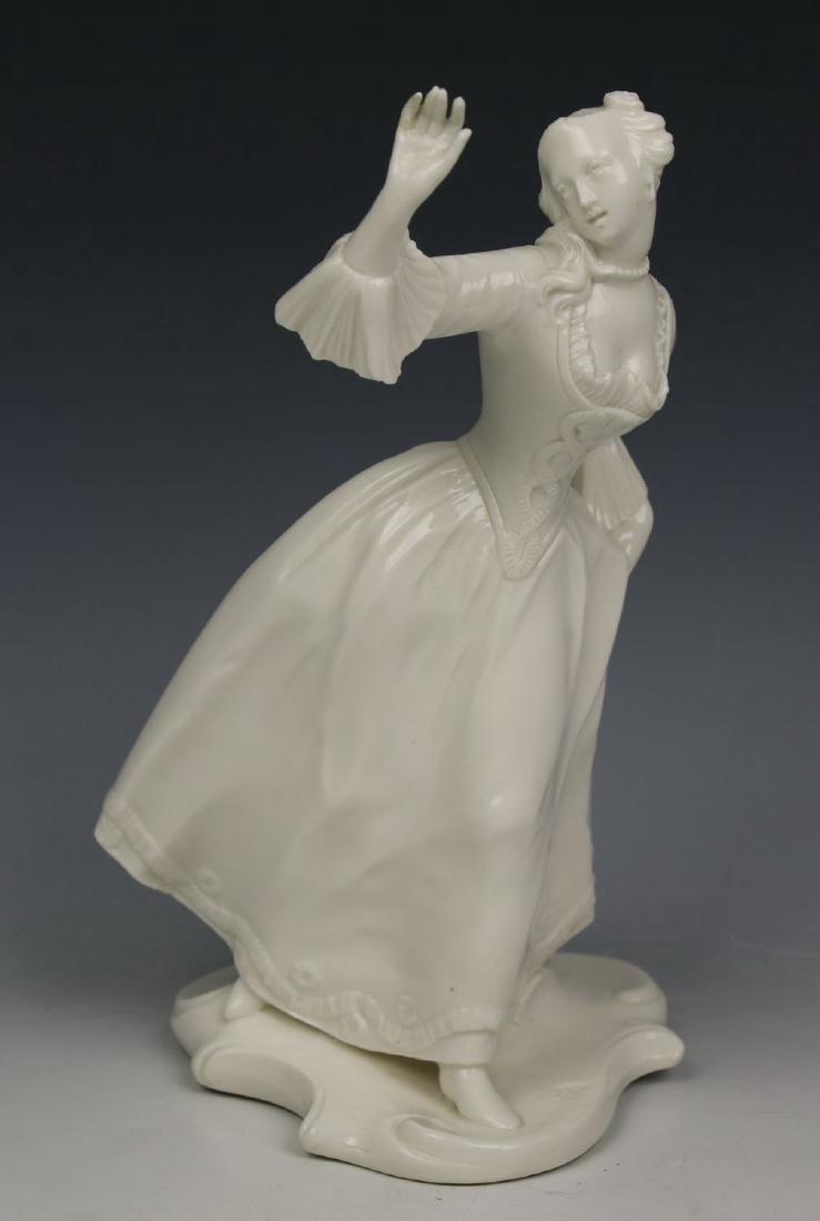 "Nymphenburg Bustelli figurine Commedia dell'Arte ""Leda"""