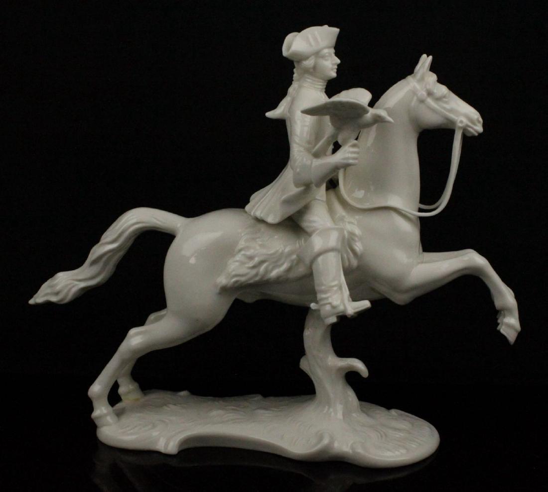 "Nymphenburg figurine ""Hunter with Hawk"""