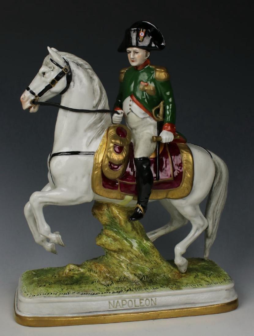 """Scheibe Alsbach Kister soldier figurine """"Napoleon on"""