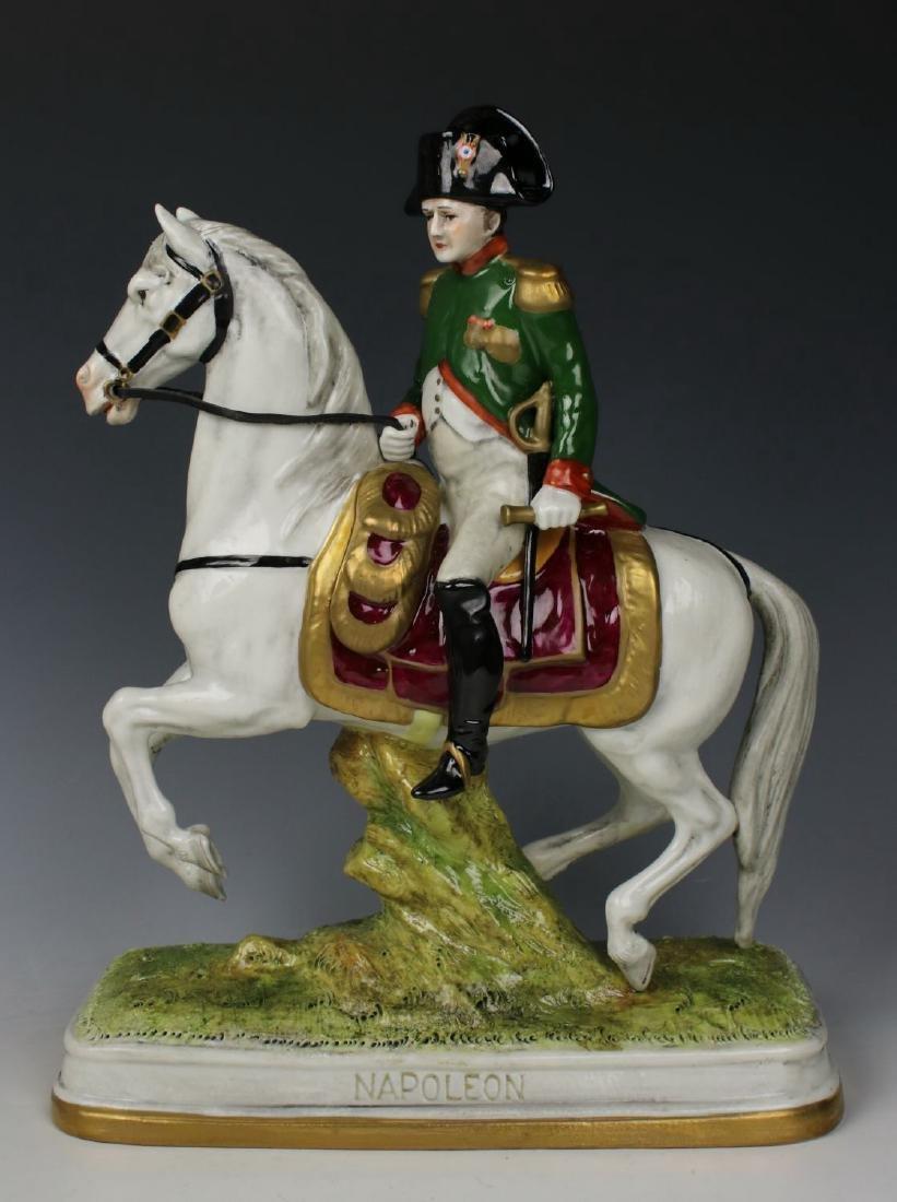 """Scheibe Alsbach Kister soldier figurine """"Napoleon on - 2"""