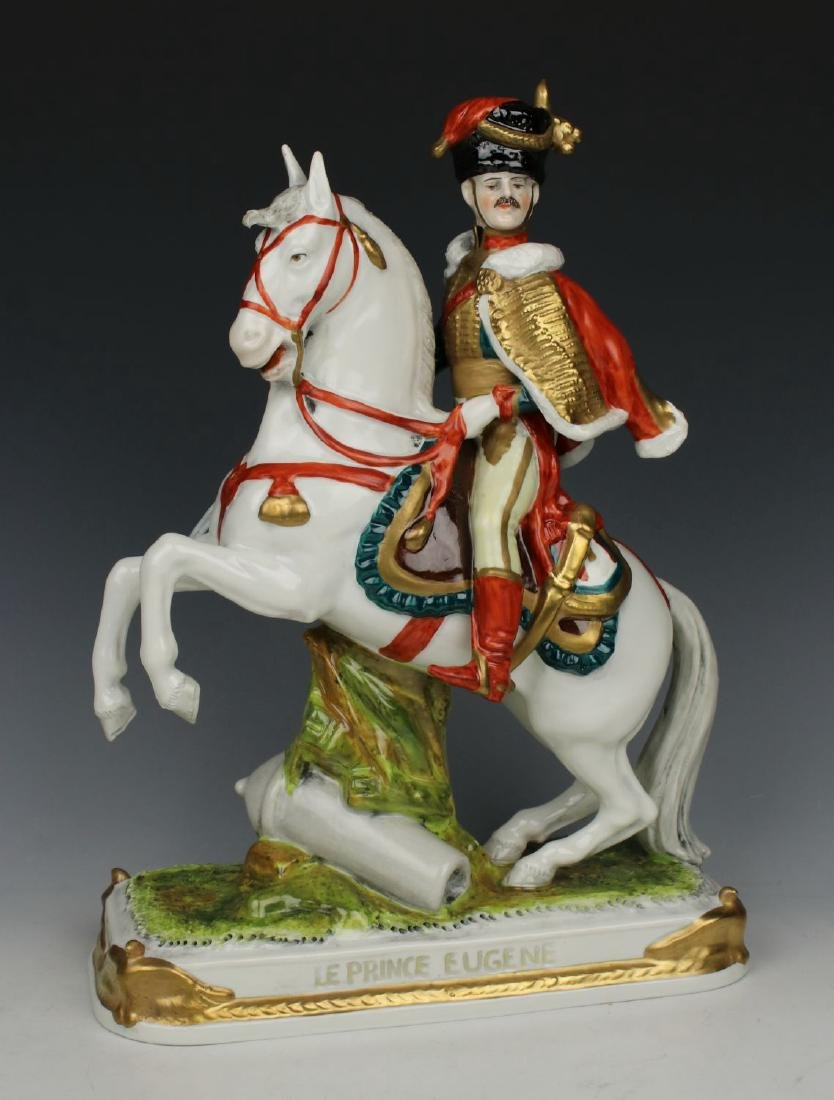 "Scheibe Alsbach Kister soldier figurine ""Le Prince"