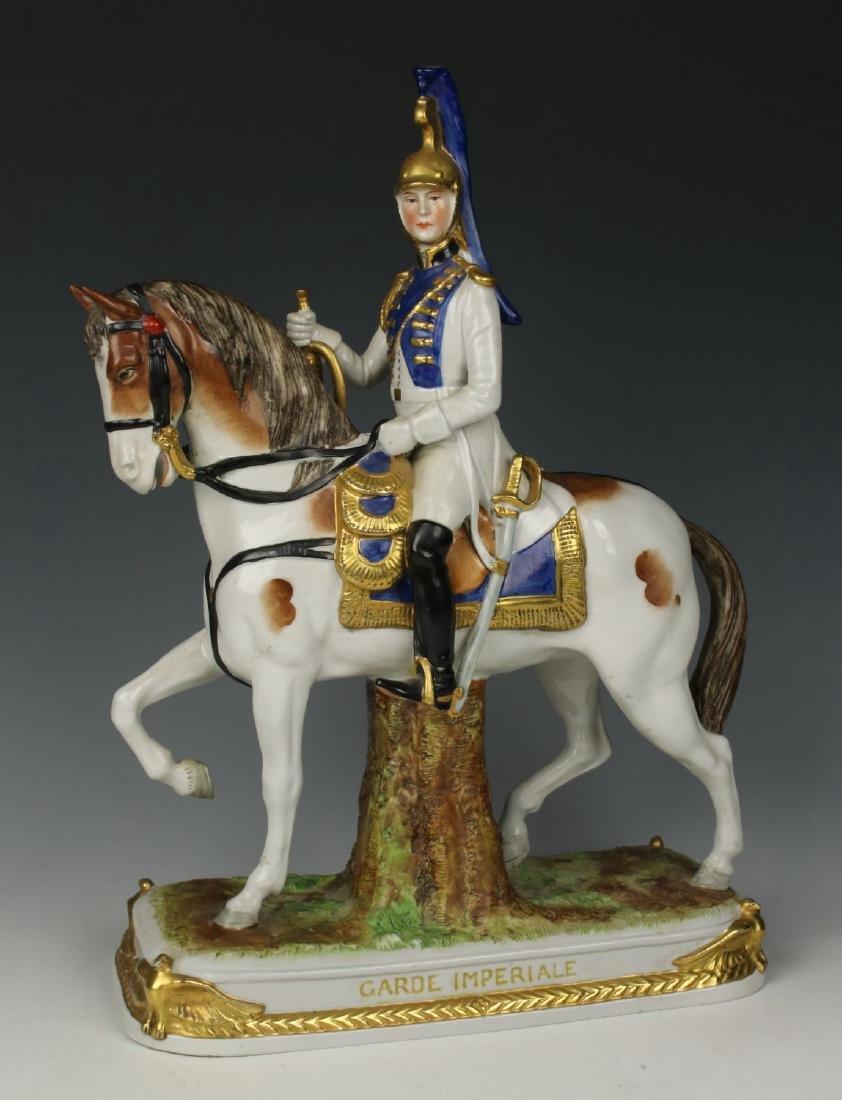 """Scheibe Alsbach Kister soldier figurine """"Garde"""