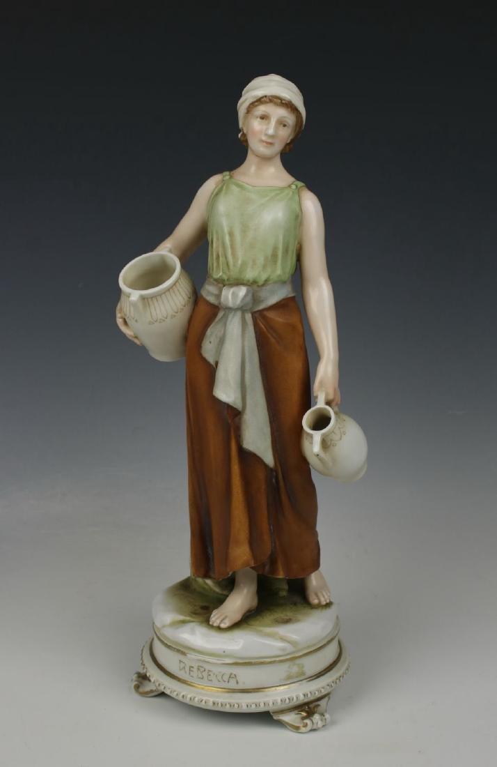"Early Karl Ens figurine ""Rebecca at the Well"" - 2"