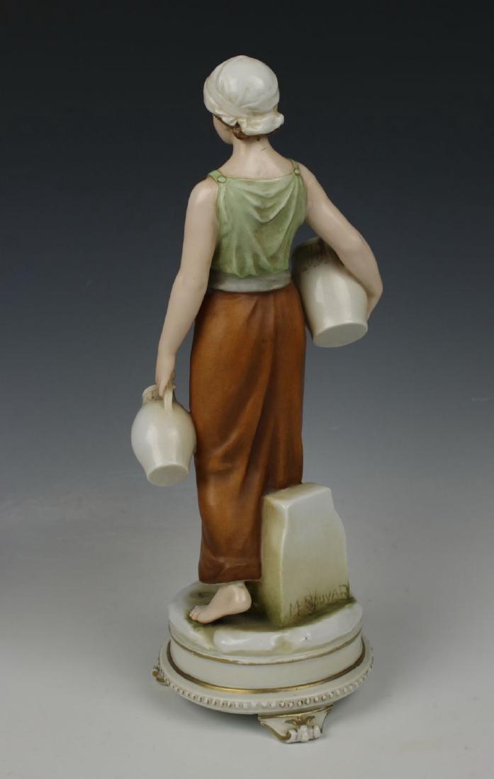 "Early Karl Ens figurine ""Rebecca at the Well"" - 3"