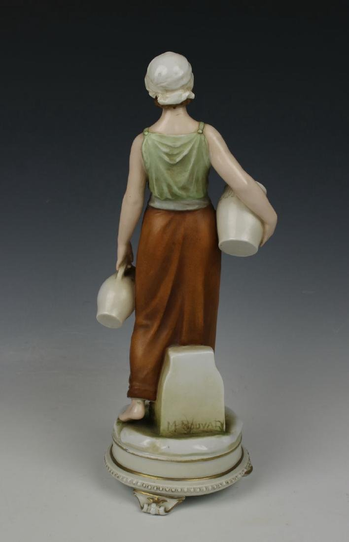 "Early Karl Ens figurine ""Rebecca at the Well"" - 4"