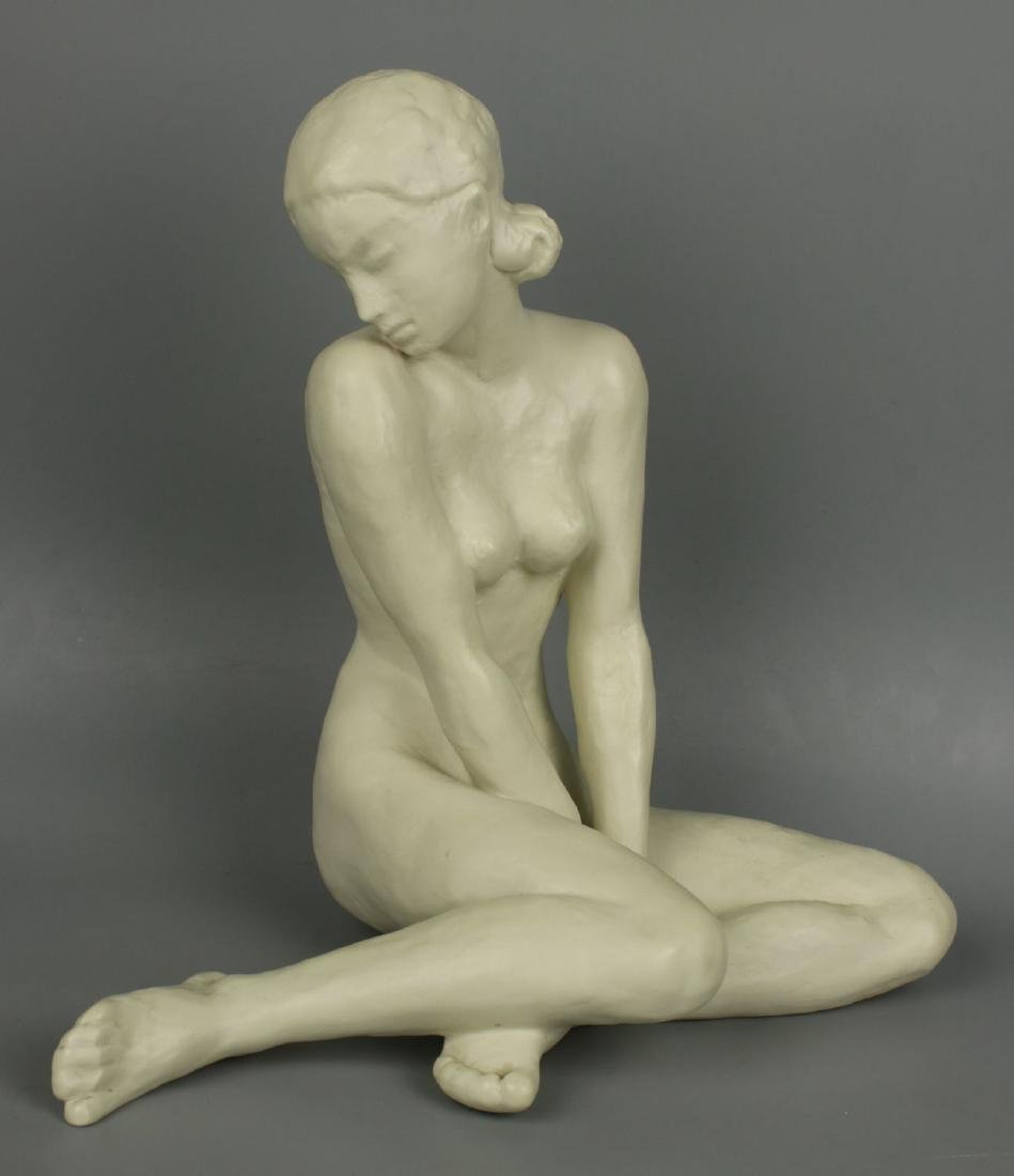 """Rosenthal Fritz Klimsch Figurine  """"Sitting Girl"""""""