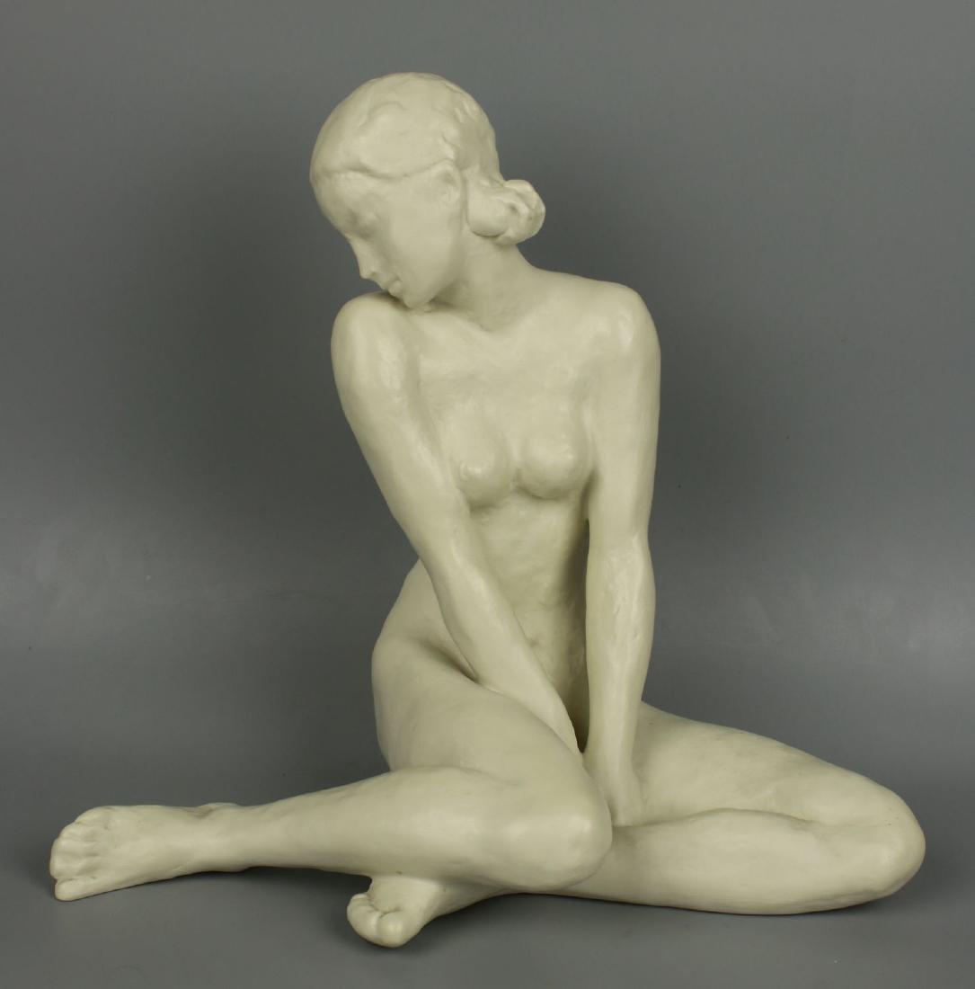 """Rosenthal Fritz Klimsch Figurine  """"Sitting Girl"""" - 2"""