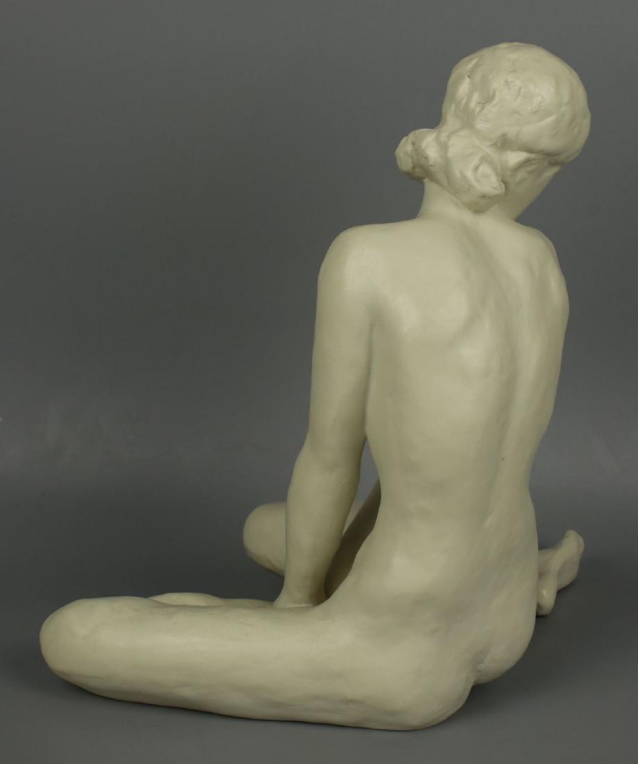 """Rosenthal Fritz Klimsch Figurine  """"Sitting Girl"""" - 5"""