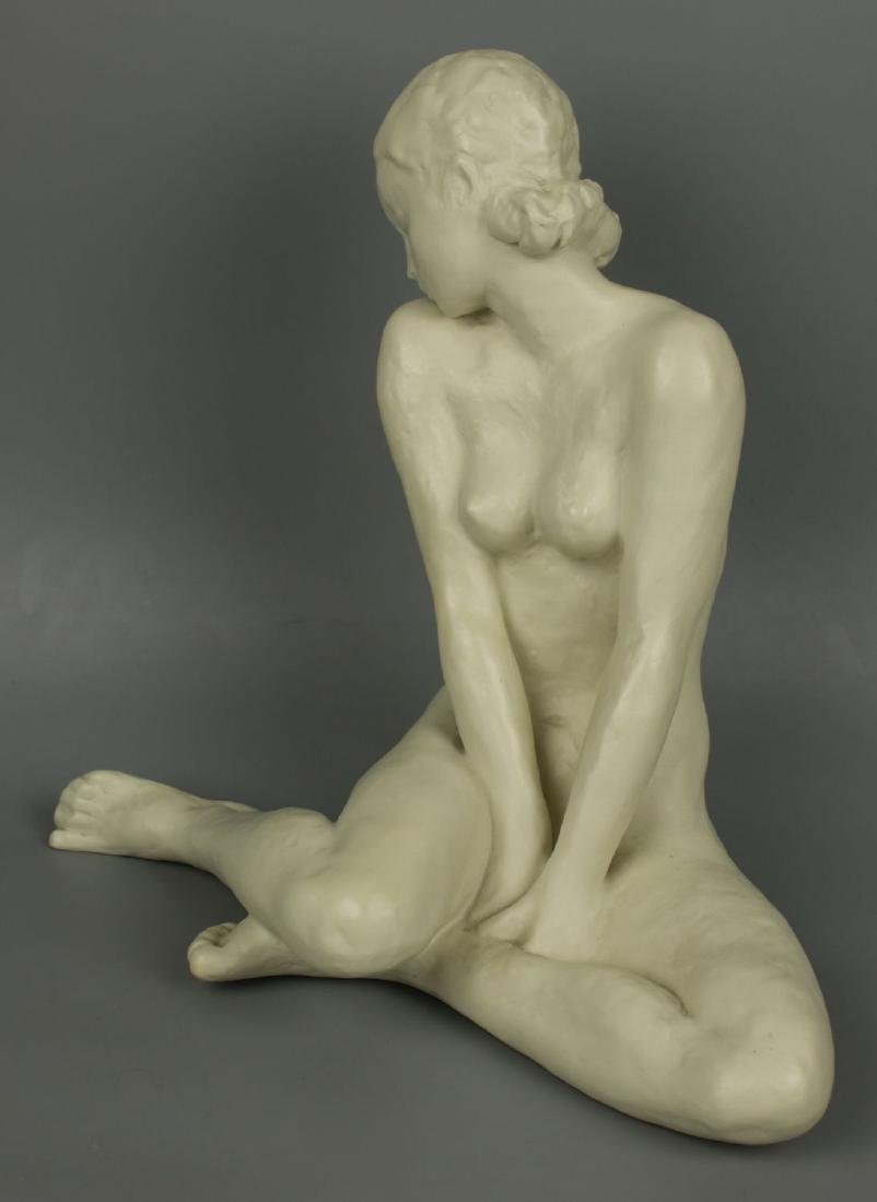 """Rosenthal Fritz Klimsch Figurine  """"Sitting Girl"""" - 6"""