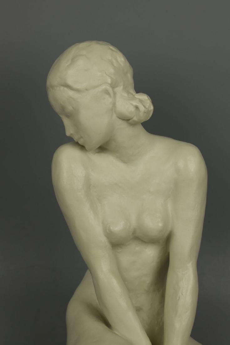 """Rosenthal Fritz Klimsch Figurine  """"Sitting Girl"""" - 7"""