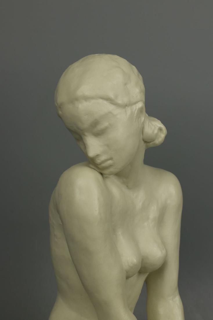 """Rosenthal Fritz Klimsch Figurine  """"Sitting Girl"""" - 8"""