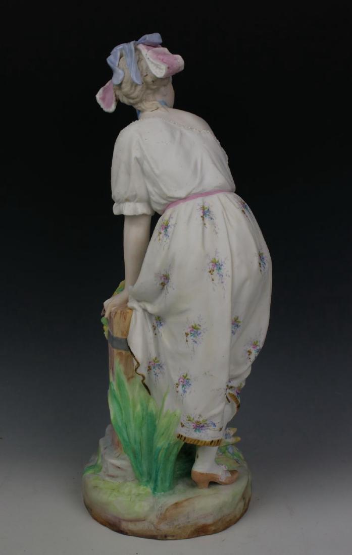"19C Vion & Baury figurines ""Noble Hunter & Peasant - 5"