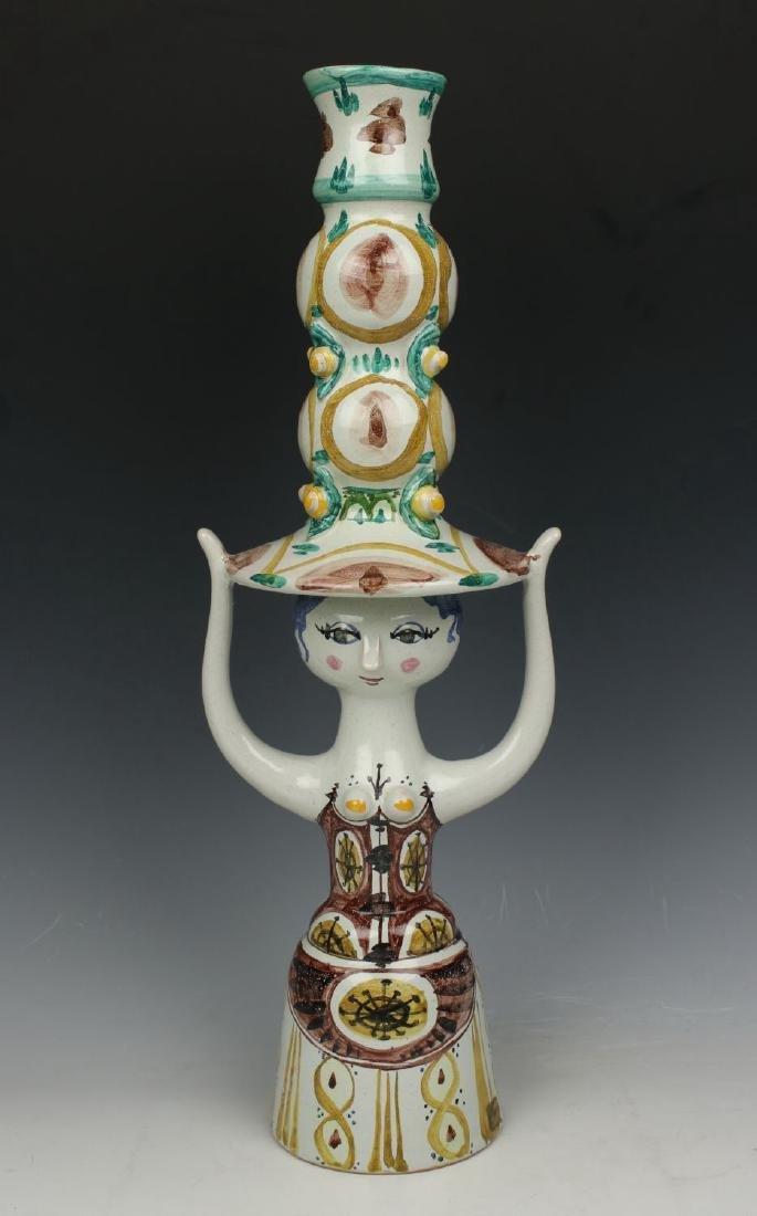 Bjorn Wiinblad figurine L11 Candlestick