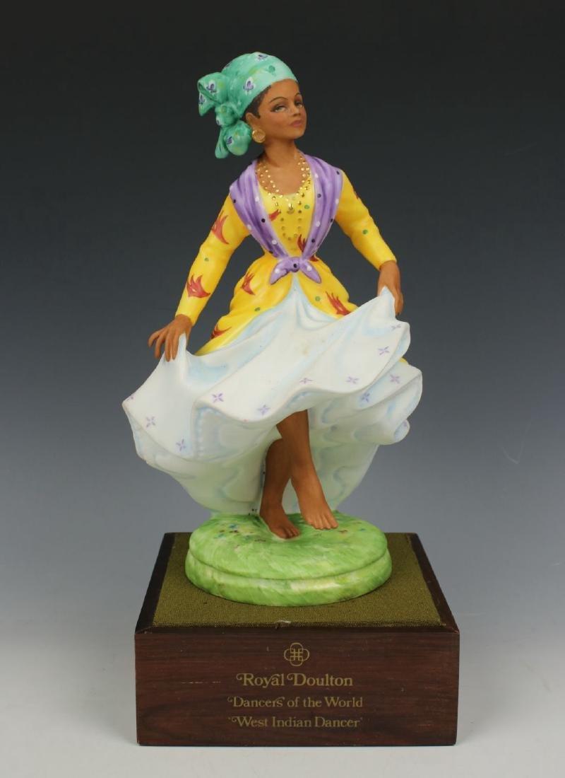 """Royal Doulton Figurine HN2384 """"West Indian Dancer"""""""