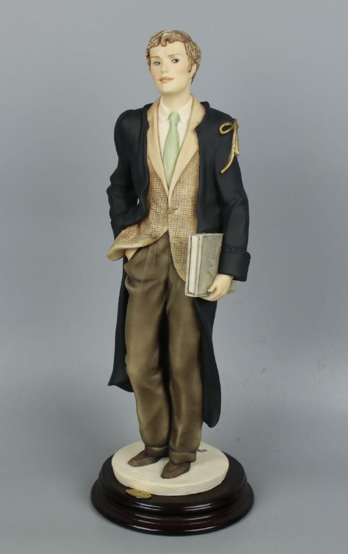 "Giuseppe Armani Figurine Lawyer ""Justice"""
