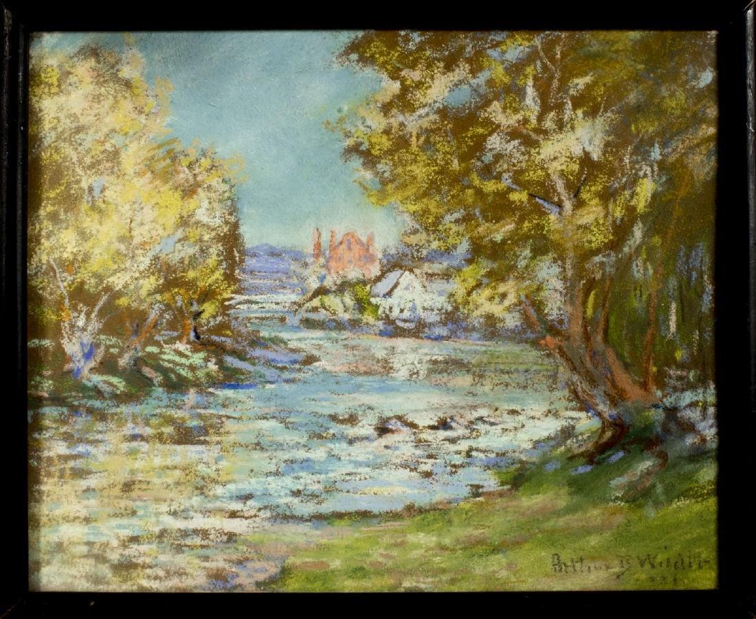 Arthur Wilder (Vermont,1857-1945) pastel on paper