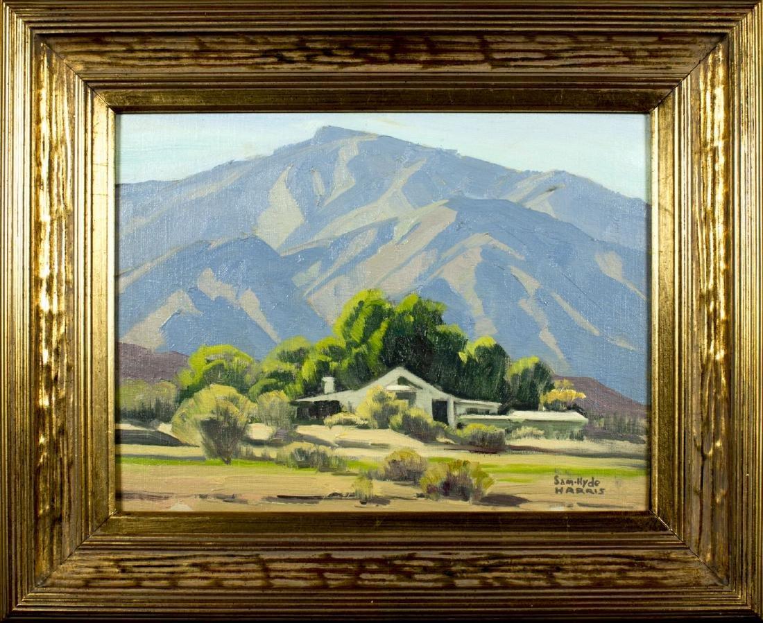 Samuel Hyde Harris (CA,1889-1977) oil on board