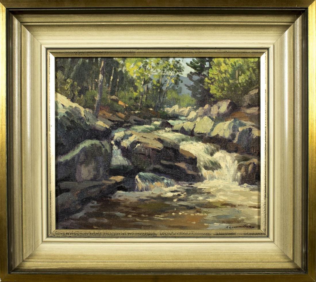 Charles Gordon Harris (Rhode Island,1891-1963) oil on