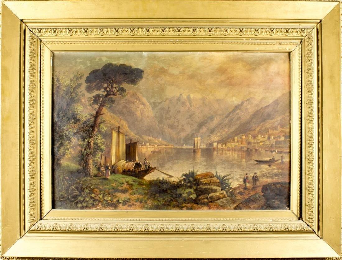 Granville Perkins (New York, 1830-1895) oil on canvas