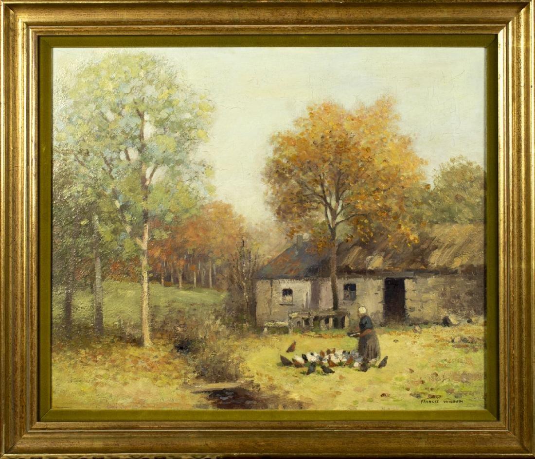Francis Wilson (UK,1876-1957) oil on canvas